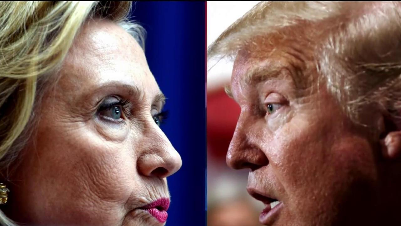 Clinton and Trump Continue to Sharpen Attacks