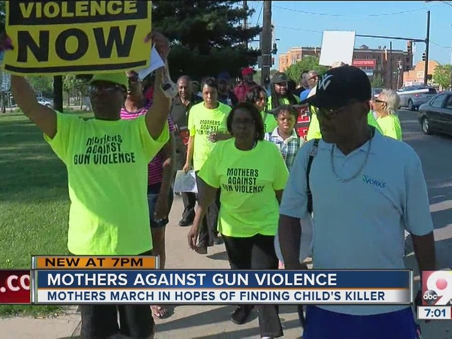 Mothers Against Gun Violence working to curb deadly crime
