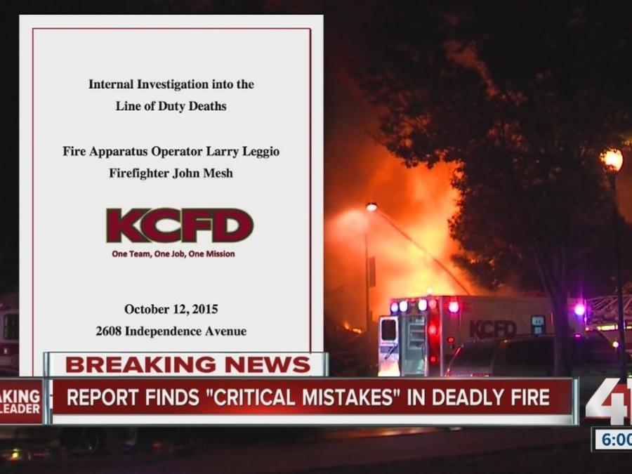 KCFD releases internal report on deadly October fire