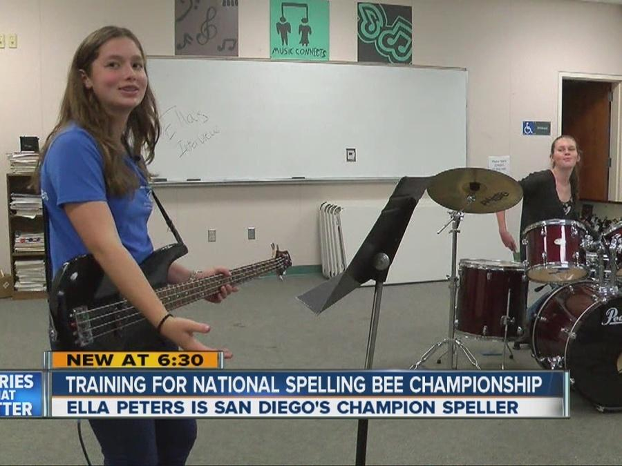 Training for national spelling bee championship