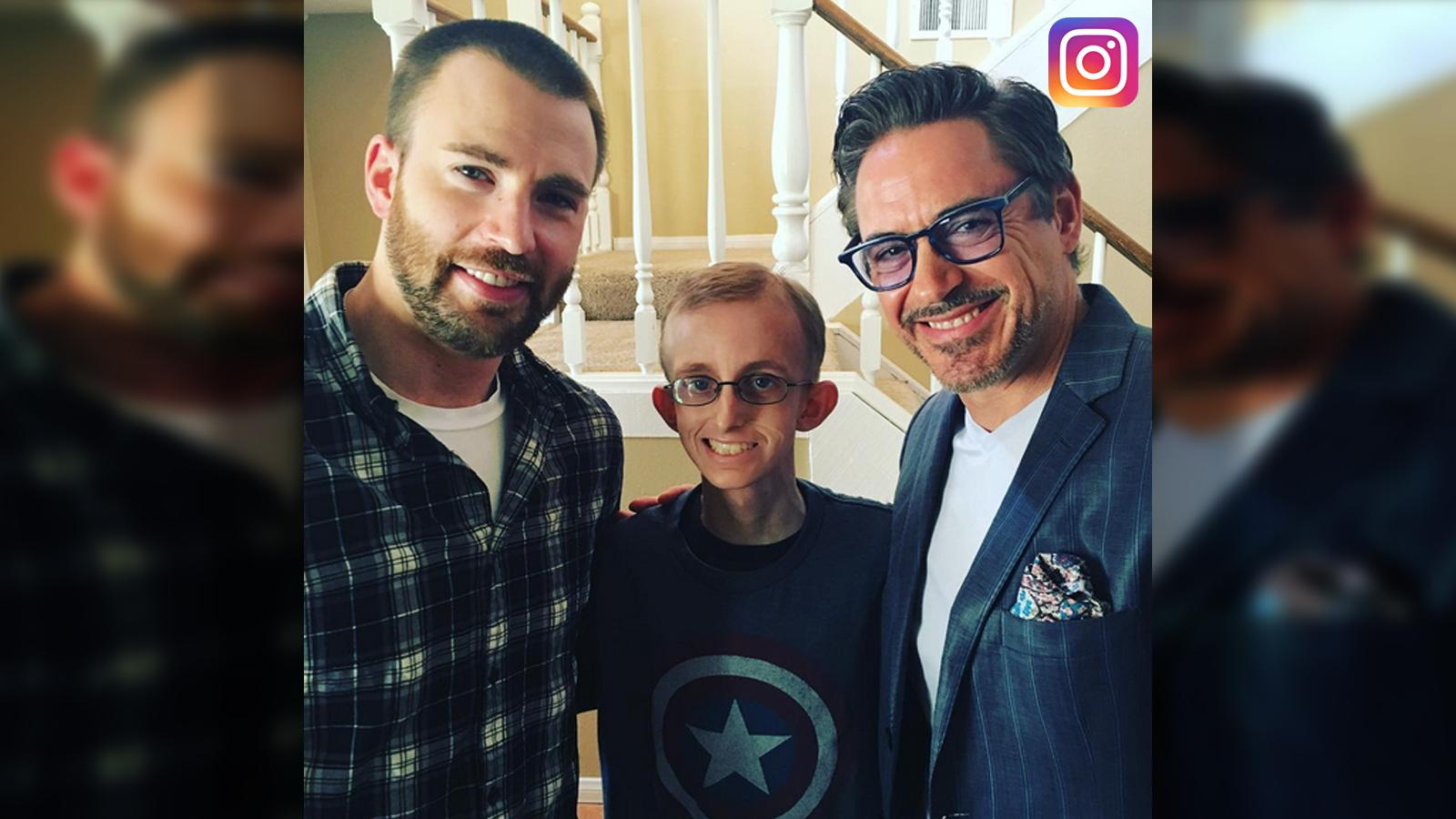 Robert Downey Jr., Chris Evans & Gwyneth Paltrow Surprise 'Avengers' Fan Battling Leukemia