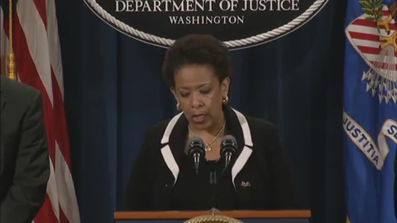 Attorney General Lynch Announces Indictment Of Dylann Roof