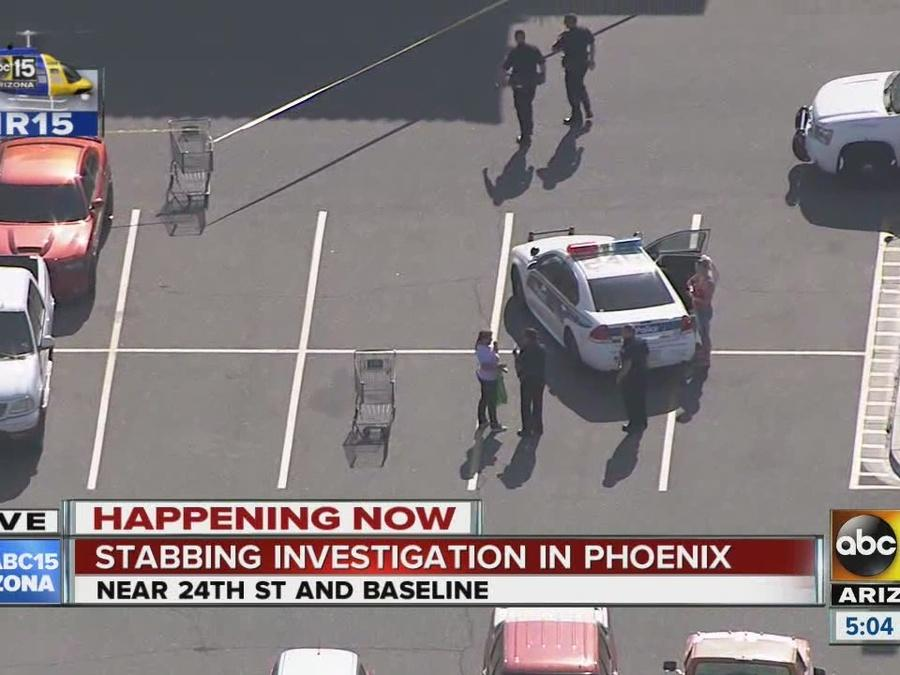 Stabbing investigation underway in Phoenix