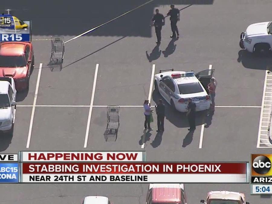 Stabbing investigation underway in Phoenix