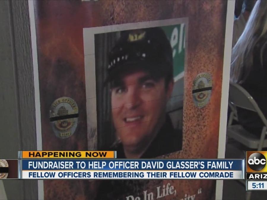 Fundraiser held to help Officer David Glasser's family
