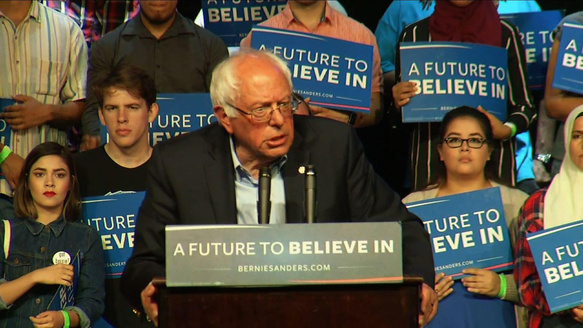 Sanders Fights for Votes Ahead of Calif. Primary