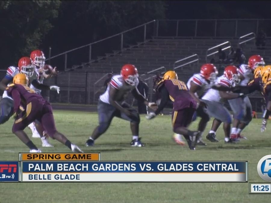 Palm Beach Gardens wins spring game