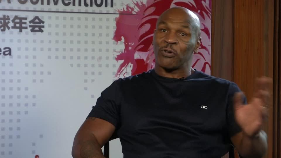 Mike Tyson Scorns Plan for Pro Boxing at Olympics