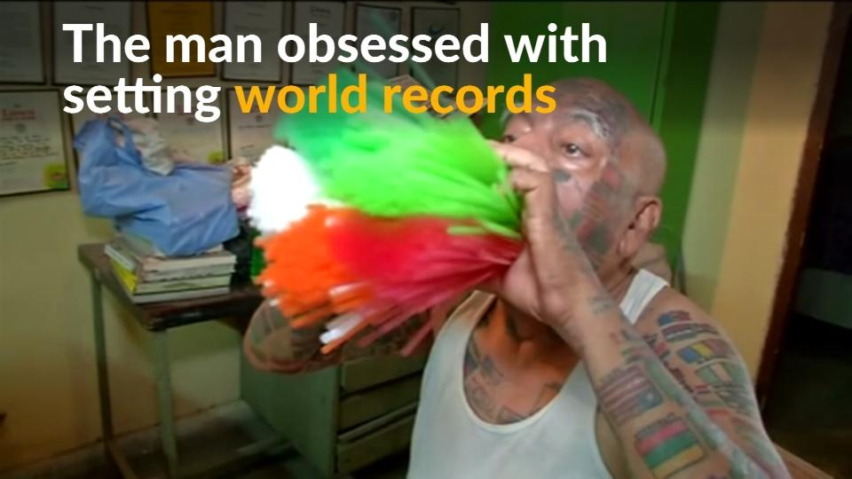 Indian Man Claims 20 World Records, Eyes More