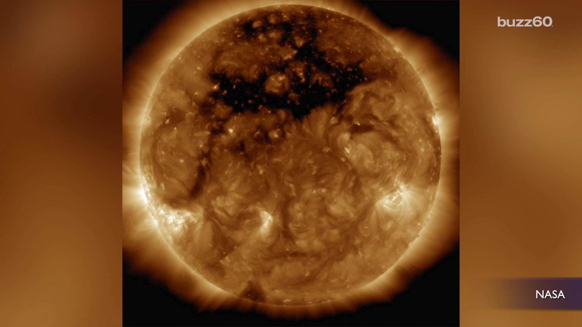 Nasa Spots Monster Hole on the Sun