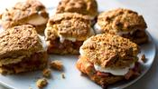 The New York Times: Rhubarb Oat Shortcakes