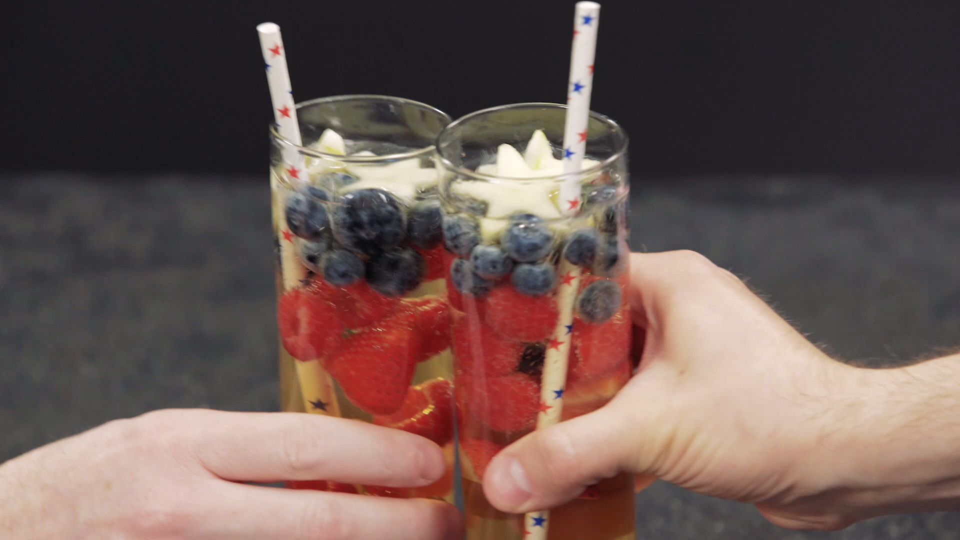 Red, White and Blue Sangria Recipe