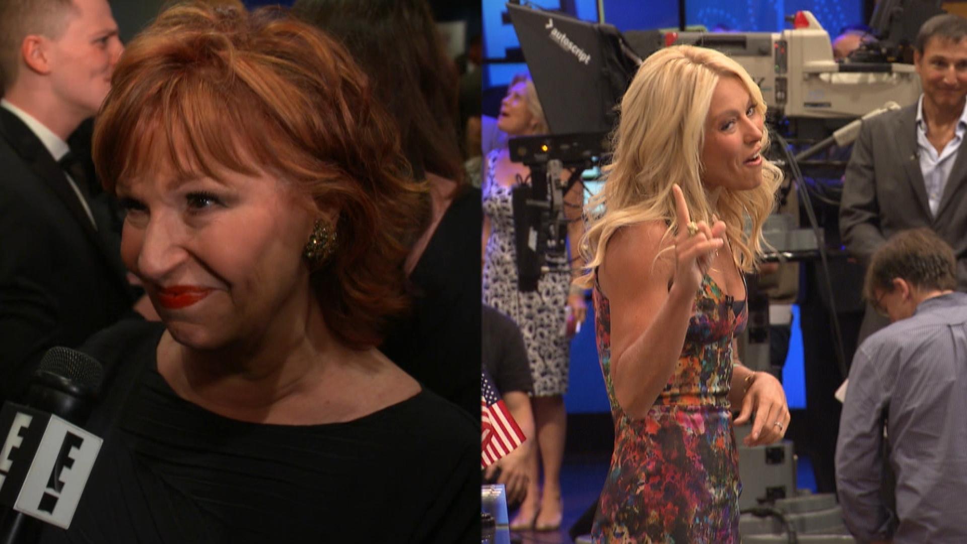 "Joy Behar Slams Kelly Ripa on ""Live!"" Drama"