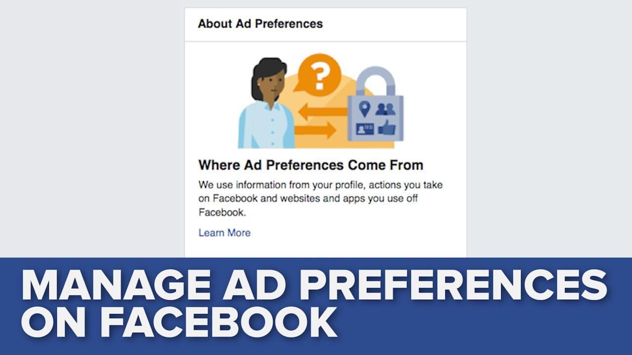 Take Control of Facebook's Targeted Ads