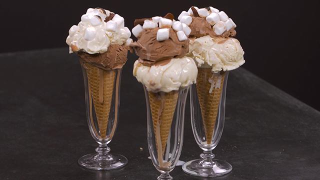 S'mores Ice Cream Cone Recipe