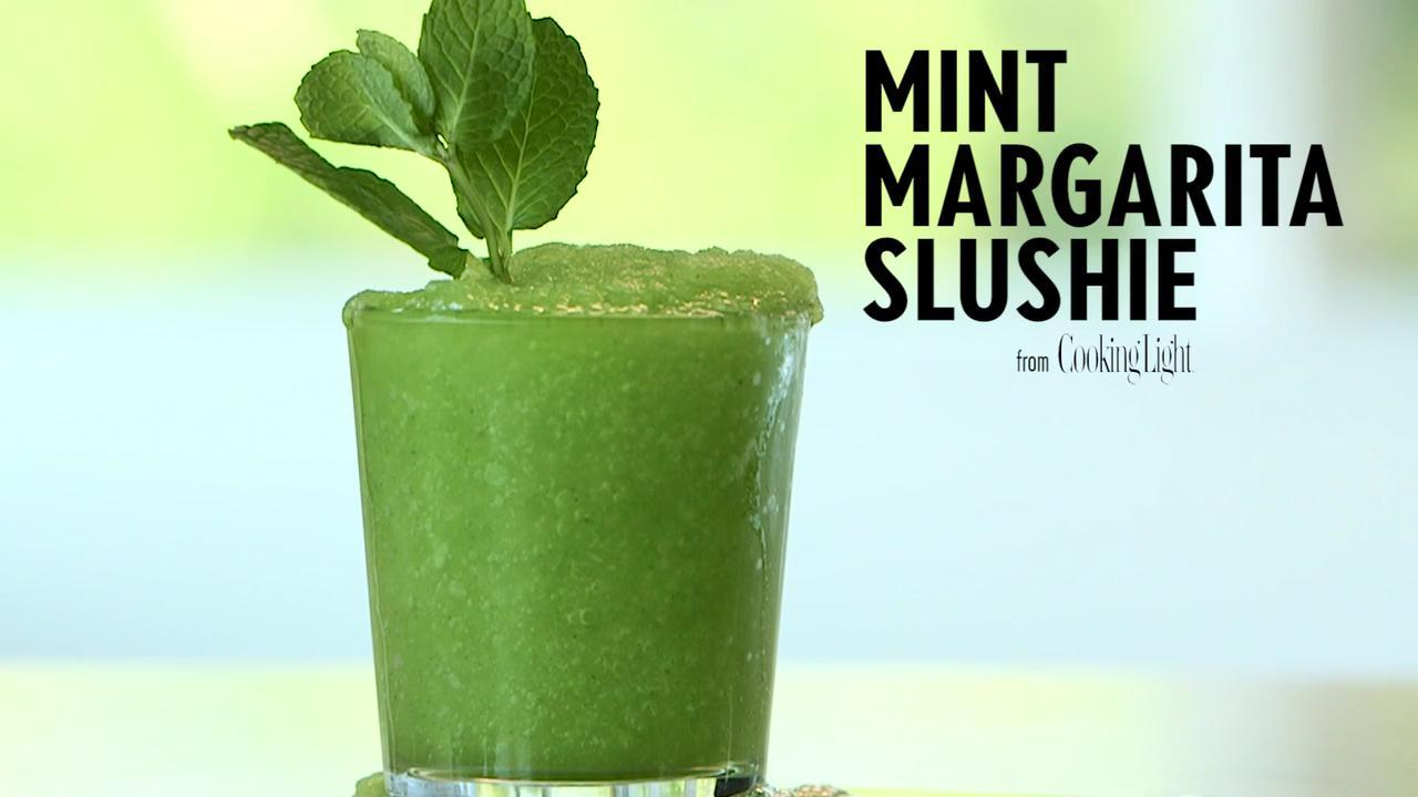 How to Make a Mint Margarita Slushie
