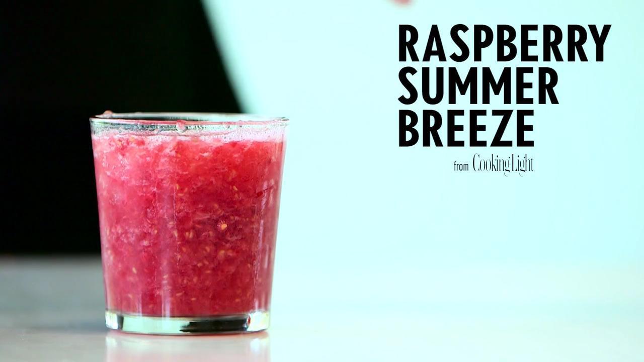 How to Make a Raspberry Summer Breeze