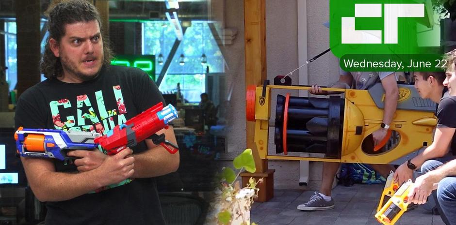 NERF GUN WAR Kid vs First Person fa.