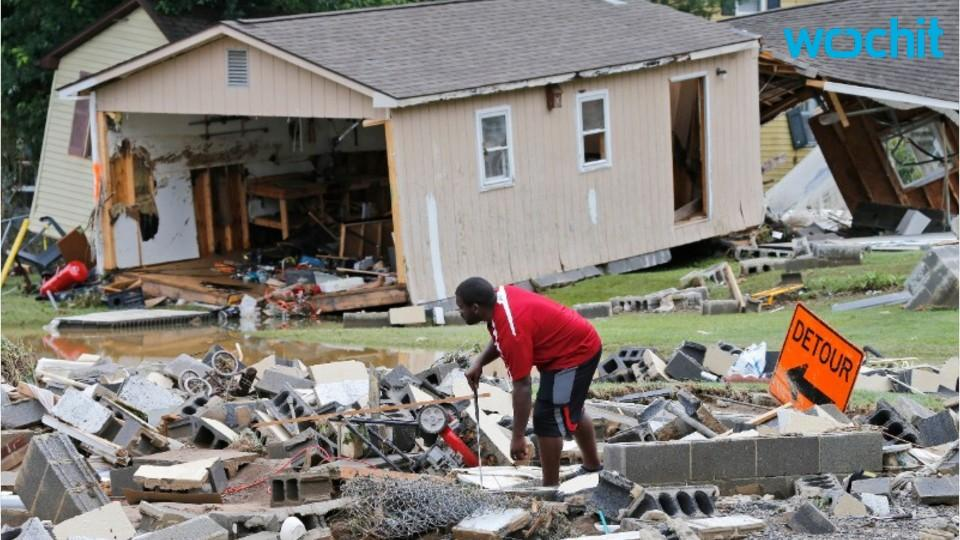 100-plus homes damaged or destroyed in flood