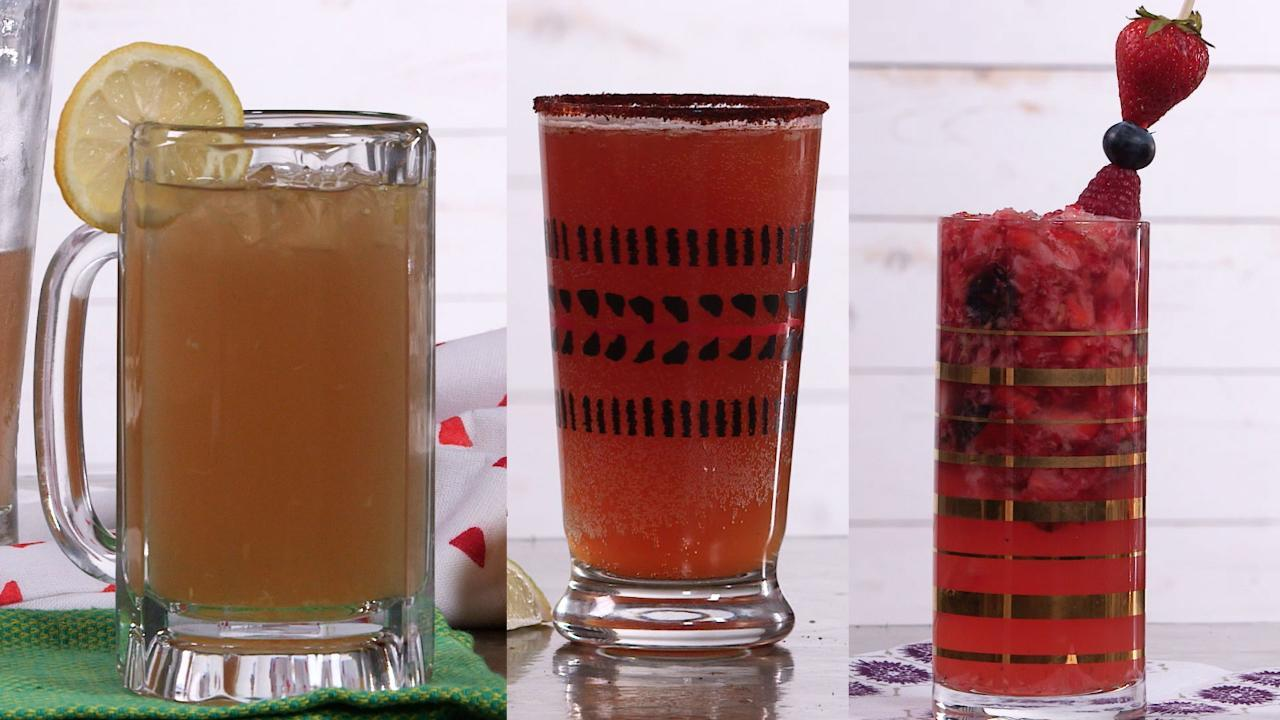 Three Easy Beer Cocktails