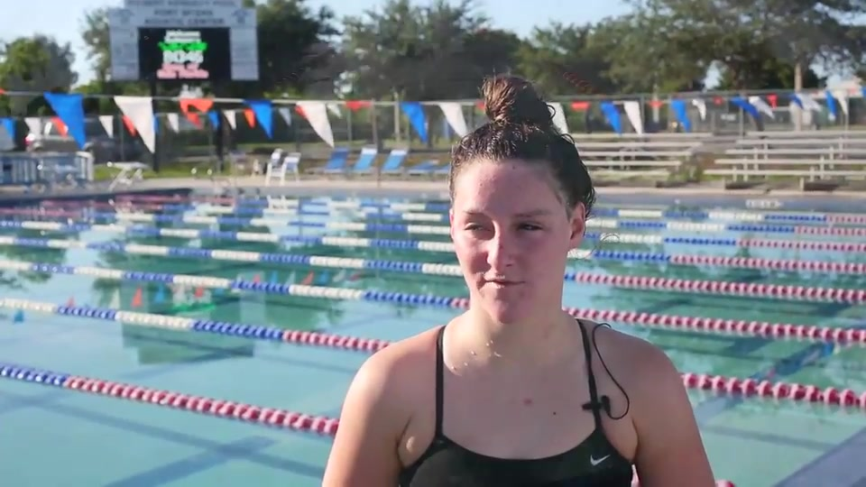 Fort Myers Swimmer, Brent, Preparing for Olympic Trials