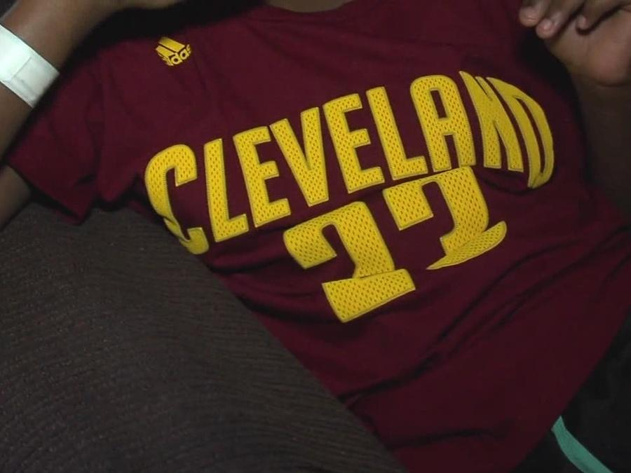 Teen girl shot near Cavs parade speaks out