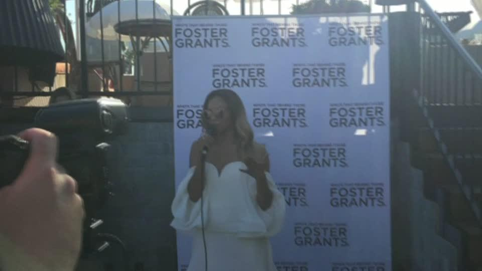 Kat Graham kicked off summer showcasing Foster Grant's 2016 Summer collection