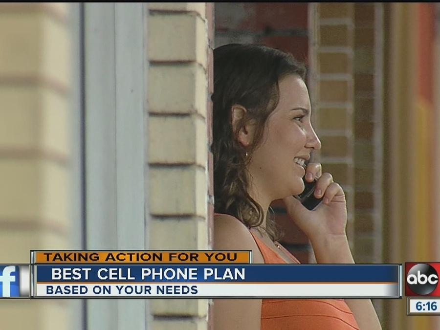 Best cell phone plans for your usage