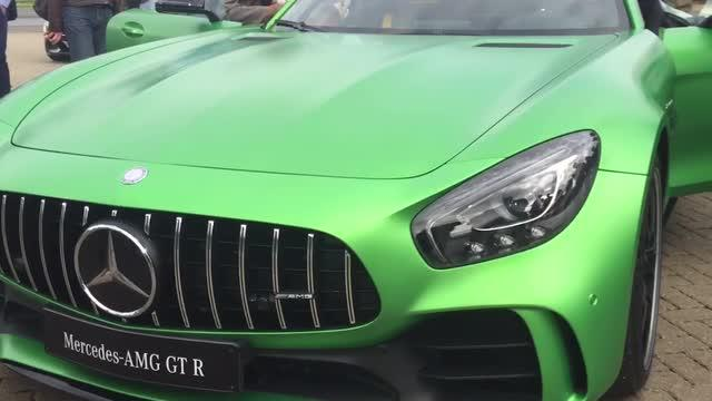Your First Look at the New Mercedes-AMG GT R