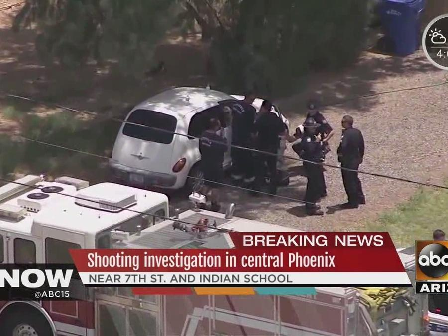 Two people killed in murder suicide in central Phoenix
