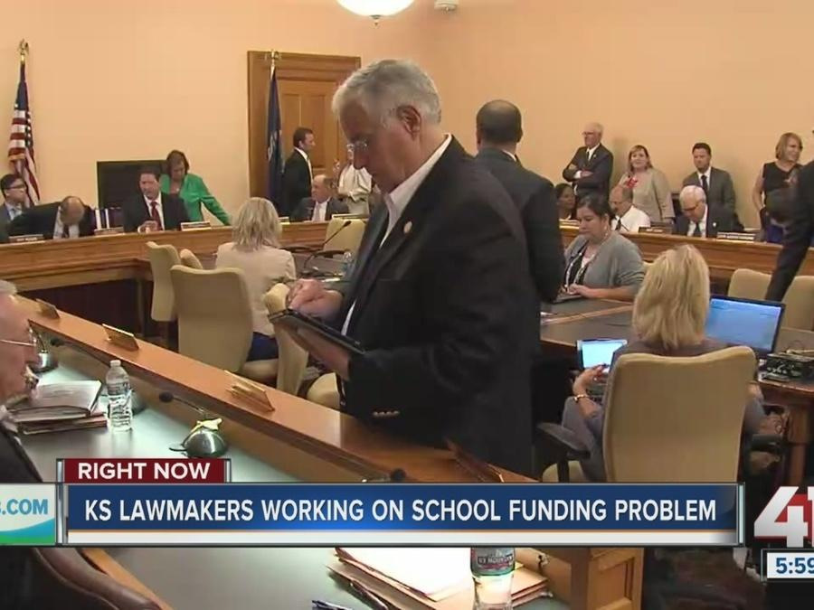 Kansas lawmakers are working on school funding problem