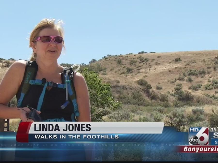 Geothermal leaks go unnoticed by people recreating in the foothills