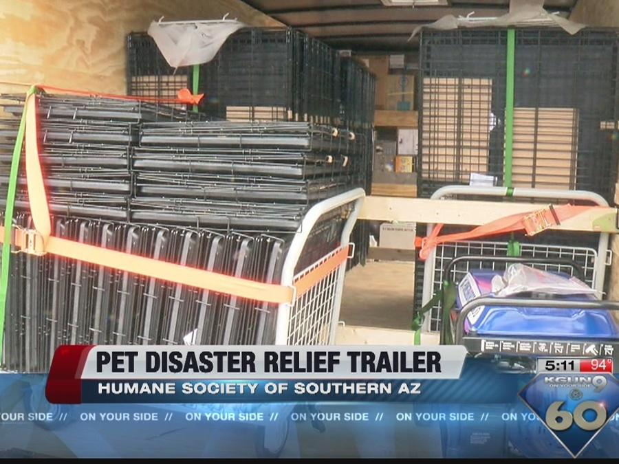 Rescue trailer helps pets find homes
