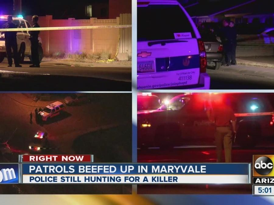 Patrols increased in Maryvale after string of murders