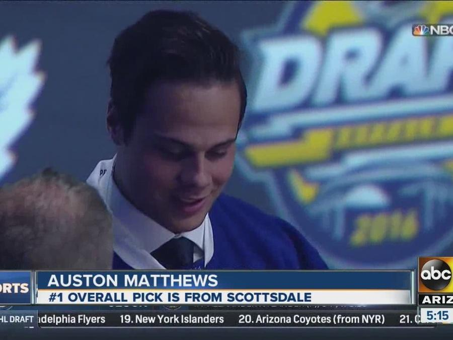 Scottsdale native taken number one in the NHL Draft