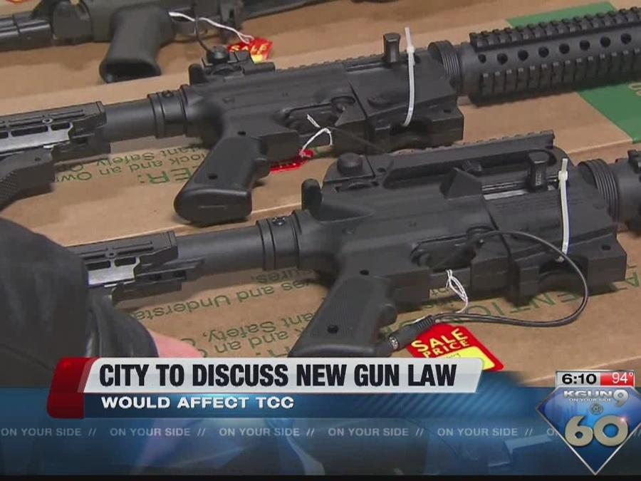 City to discuss further restrictions at Tucson gun shows