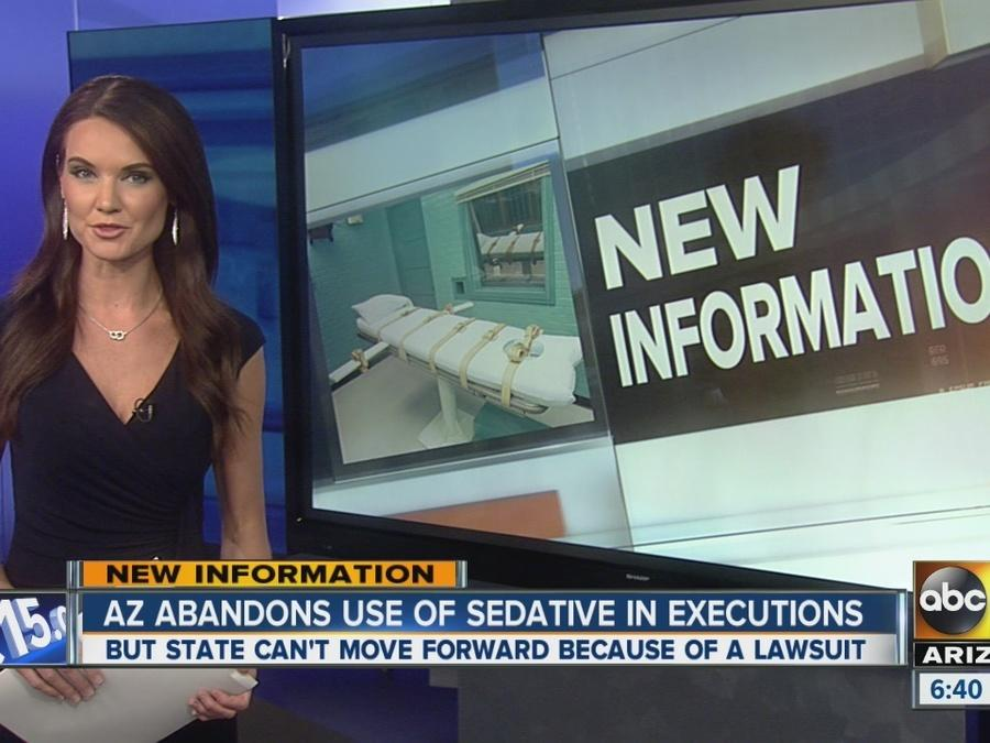 Arizona abandons use of sedative in executions