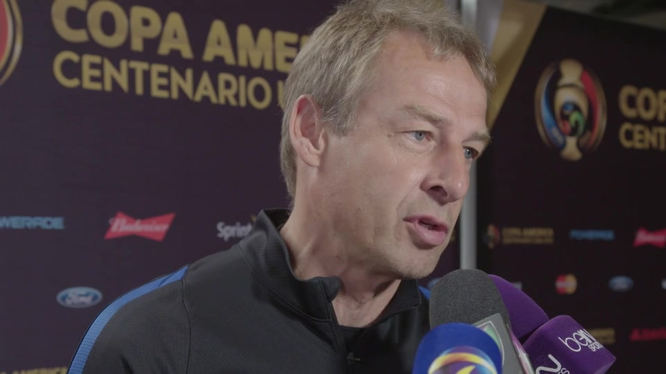 Jurgen Klinsmann on the Importance of the Third-Place Game Vs. Colombia