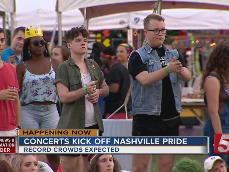 Concert Kicks Off Day 1 Of Nashville Pride Festival