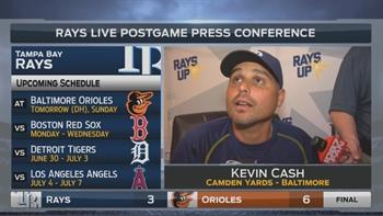 Kevin Cash: We have to find a way to add on