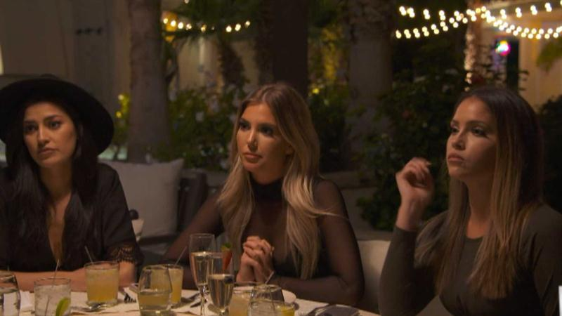 Sophia Confronts Sasha at Dinner Party