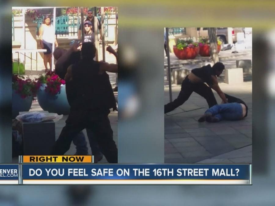 Do you feel safe on the 16th St. Mall?