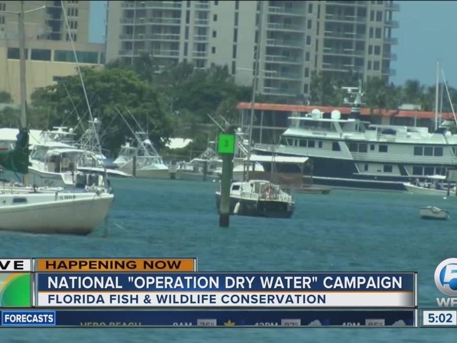 National 'Operation Dry Water' campaign