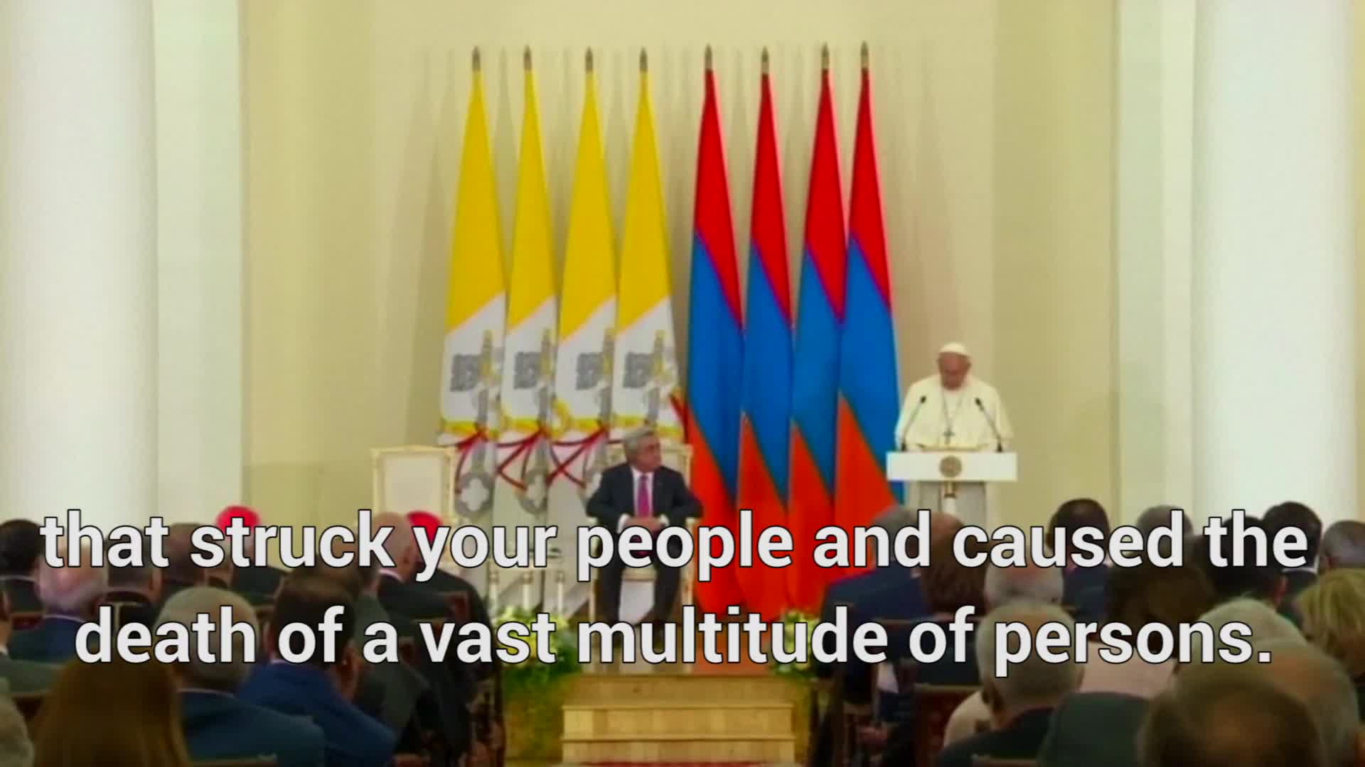 Pope Francis Denounces Armenian 'Genocide' In Ad-Libbed Speech