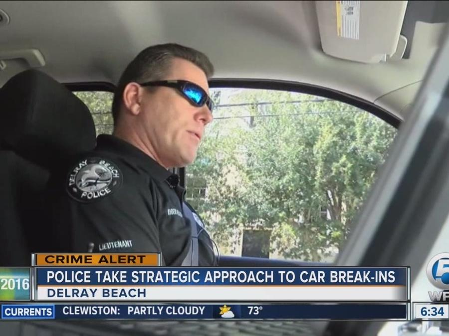 Police take strategic approach to car break-ins