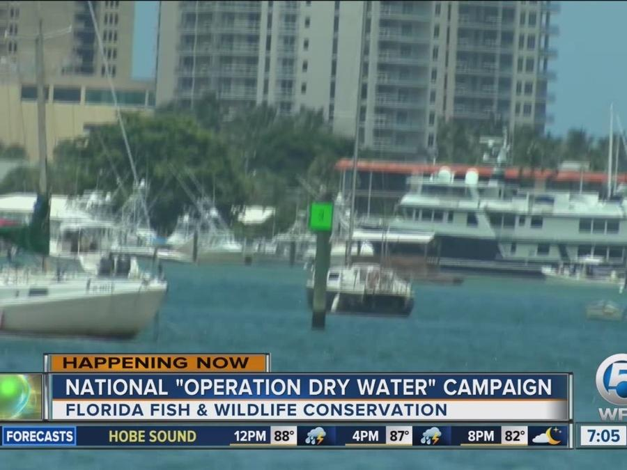 'National Operation Dry Water' campaign