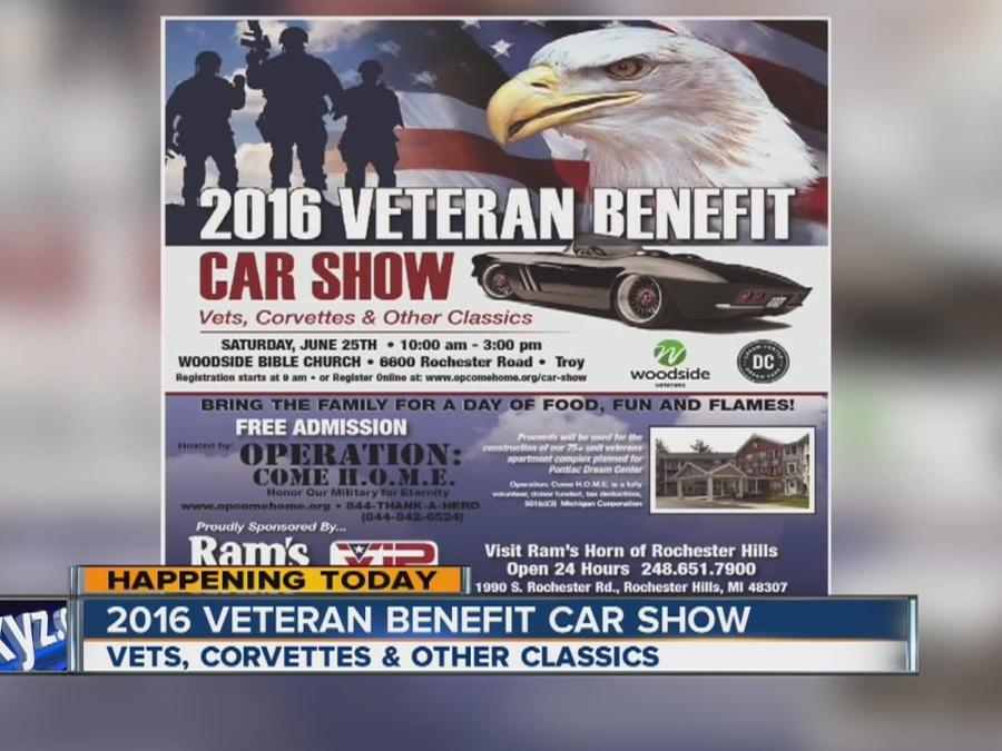 2016 Veteran Benefit Car Show