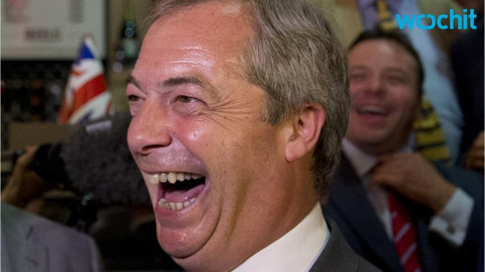 Donald Trump and Brexit Leader Nigel Farage: Brothers from Another Mother