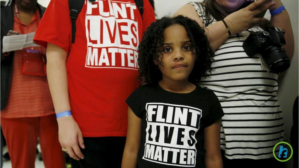 Children's Blood Lead Levels From Flint Water Crisis