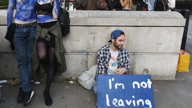 Millions Signed a Petition for Another Brexit Referendum